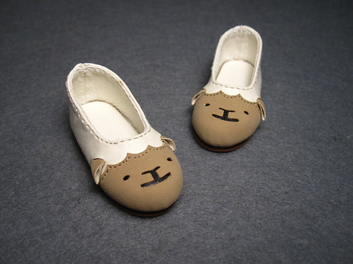 1/6 BJD shoes adorable sheep flat shoes