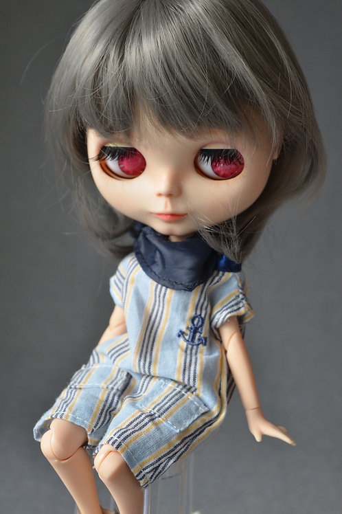 "Blythe/Pullip 8-10"" Doll fantasy wig [Pepper]"