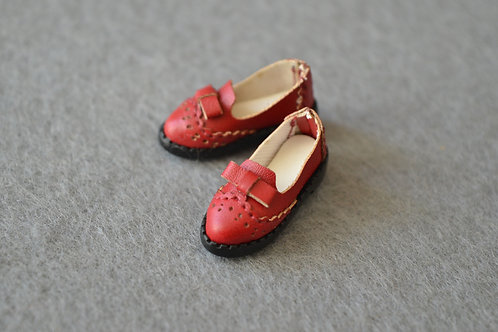 "12""Blythe/Pullip/mmk/JerryB shoes red oxford"