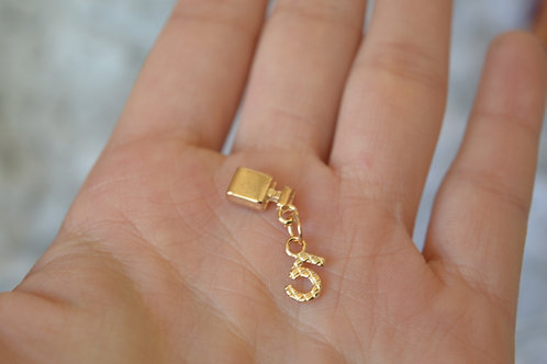 Blythe pull ring noble metal chanel No.5 2 sets