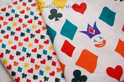 50 *50 cm lucky 100% cotton doll clothes fabric