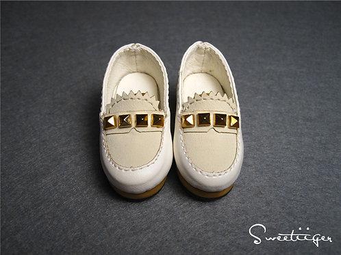 1/6 BJD Artificial leather rivet fashion shoes