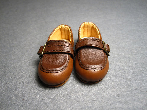 1/6 BJD shoes double colors Loafers