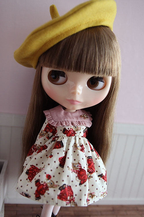 Blythe/Pullip sweet rabbit dress outfit