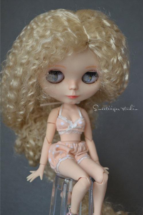 """Blythe/Pullip 8-10""""Doll fantasy wig [Soda cracker]"""