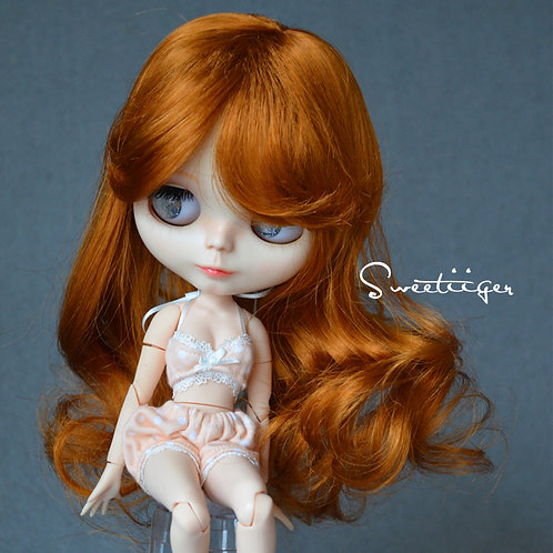 """Blythe/Pullip 8-10"""" Doll fantasy wig [Honey jar]"""