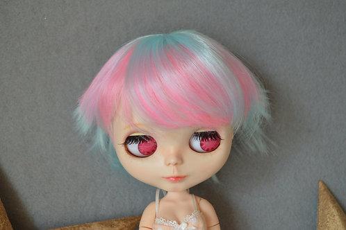 """Blythe/Pullip 8-10"""" Doll fantasy wig [Popsicle]"""