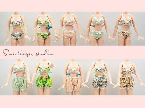 Blythe/Pullip 10 colors bikini/underwear sets