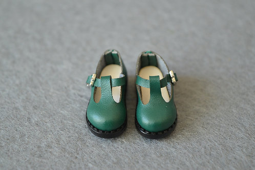 """12""""Blythe/Pullip/mmk/JerryB shoes green ink"""