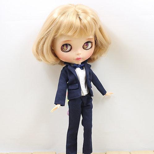 Blythe/Pullip outfit  navy suit sets