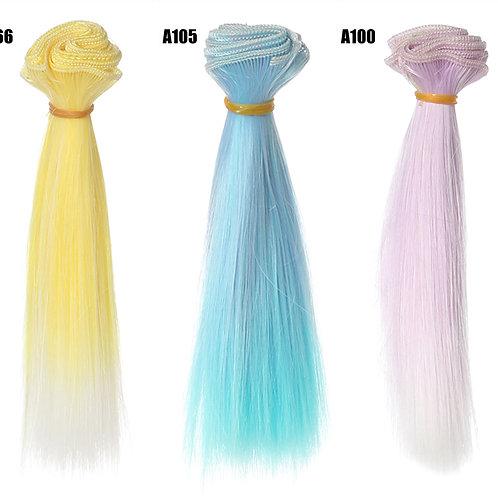 15*100 cm doll wig material rooting hair