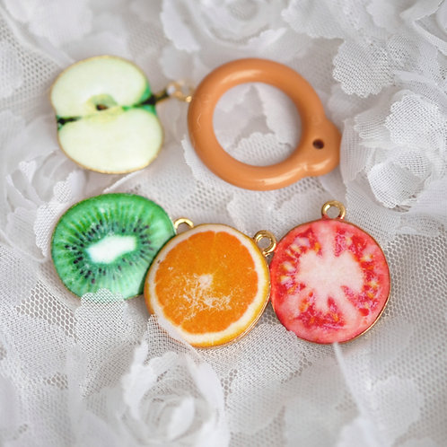 Blythe pull ring noble colorful fruit cut 4 colors