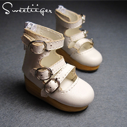 1/6 BJD shoes Artificial leather Hollow Boots