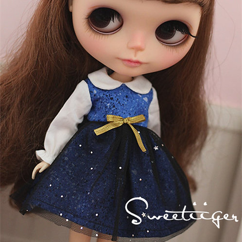 Blythe/Pullip star Galaxia dress