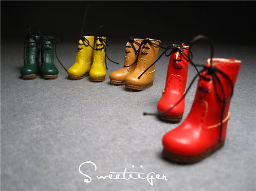 """12""""Blythe/Pullip/mmk/JerryB shoes cute boots"""