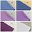 Thumbnail: 50 *80 cm basic 100% cotton pure color doll clothes fabric 24 colors