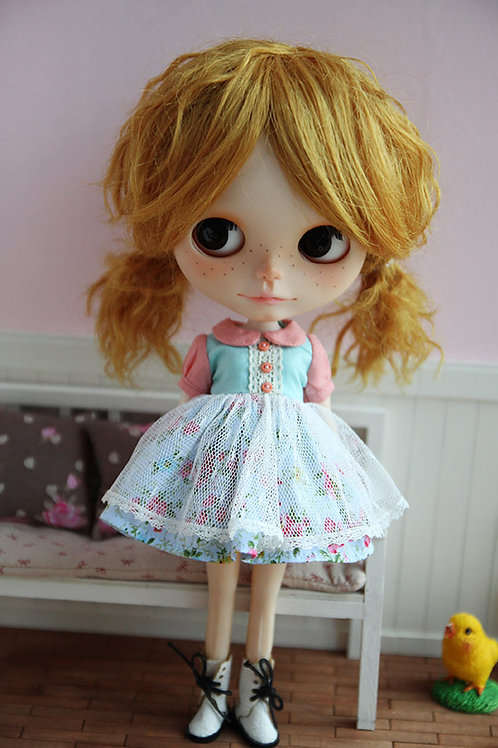 Blythe/Pullip sweet lace flower dress