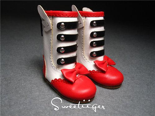 1/6 BJD cute wings boots