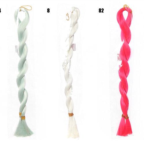 Rooting doll hair material high temperature silk