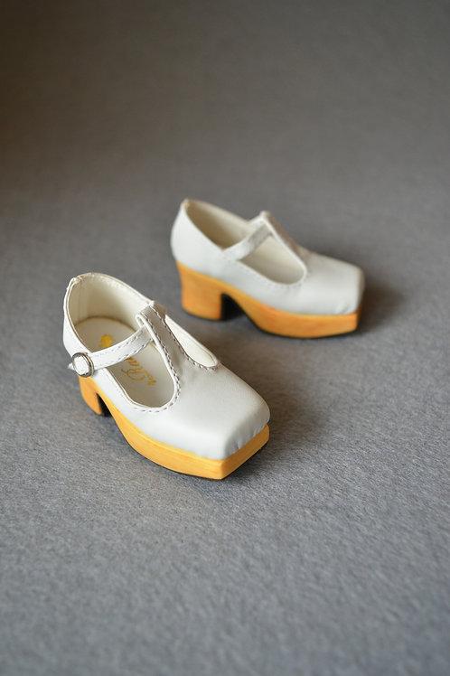 1/3 BJD shoes Square head platform shoes