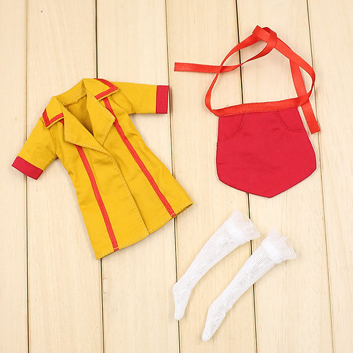 Blythe/Pullip outfit broke girls cosplay costume