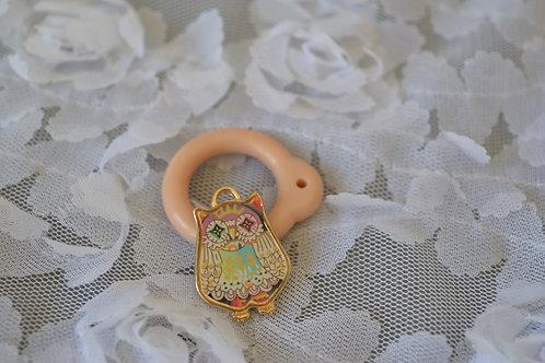 Blythe pull ring noble metal little owl