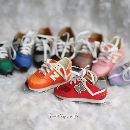 1/4 BJD MSD shoes colorful sneakers