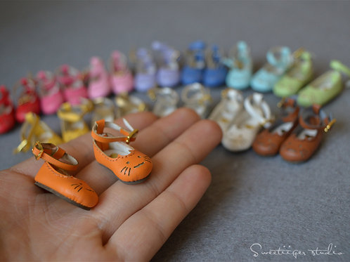 "12""Blythe/Pullip/mmk/JerryB shoes [happy kitten]"