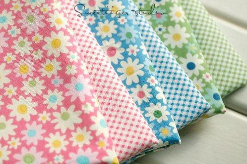 50 *50 cm fruit 100% cotton doll clothes fabric
