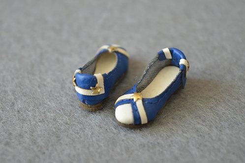"""12""""Blythe/Pullip/mmk/JerryB shoes little navy"""