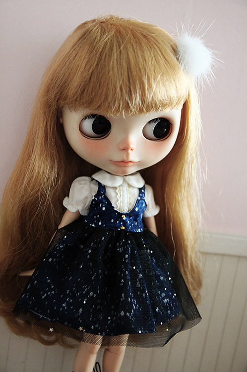 Blythe/Pullip sweet galaxy dress outfit 2 set