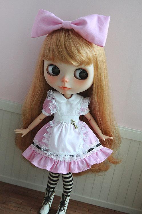 Blythe/Pullip pink Alice outfit 4 sets