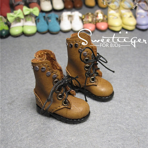 "12""Blythe/Pullip/mmk/JerryB shoes punk boots"