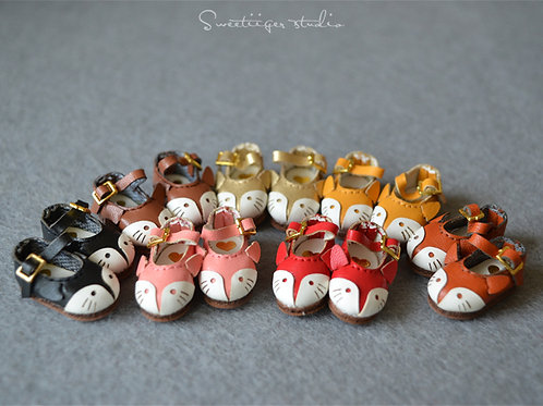 """12""""Blythe/Pullip/mmk/JerryB shoes fox shoes"""