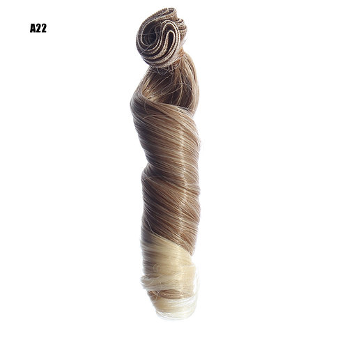 volume 15*100 cm doll wig material rooting