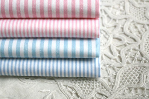 50 *50 cm stripe 100% cotton doll clothes fabric