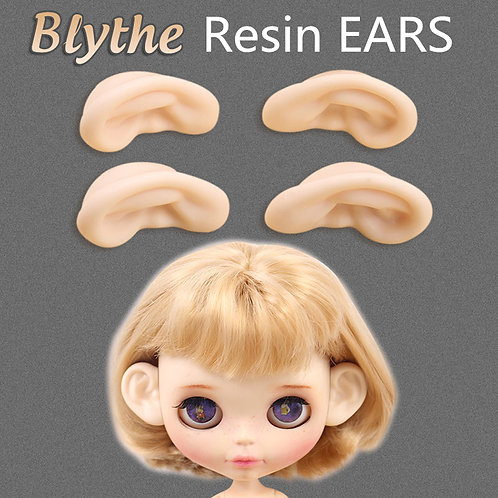 Sweetiiger special extra resin ears for Blythe