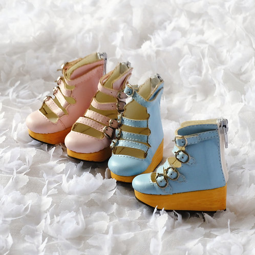 1/4 BJD shoes roma platform summer boots