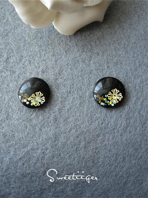 hand made sparkle color metal Blythe eye chips