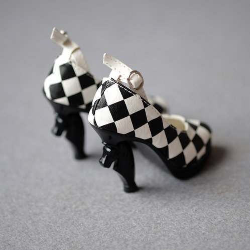 1/3 BJD shoes special chess high heels