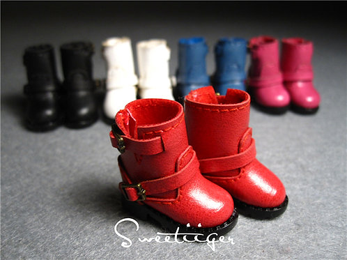 """12""""Blythe/Pullip/mmk/JerryB shoes motorcycle boots"""