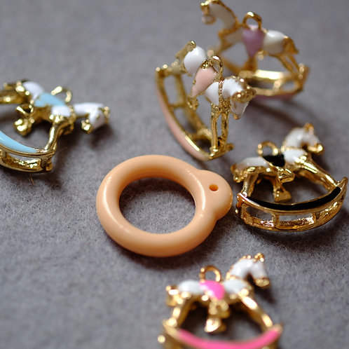 Blythe pull ring noble little toy pony 5 colors