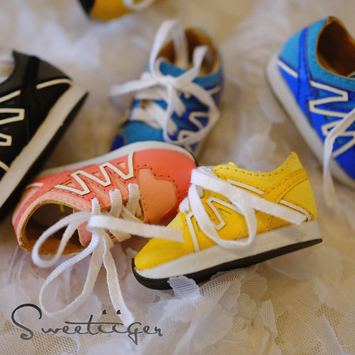 1/6 BJD shoes adorable colorful sneakers shoes