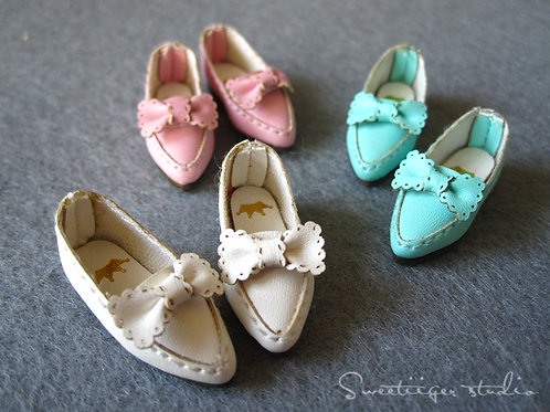 "12""Blythe/Pullip/mmk/JerryB shoes fashion bows"