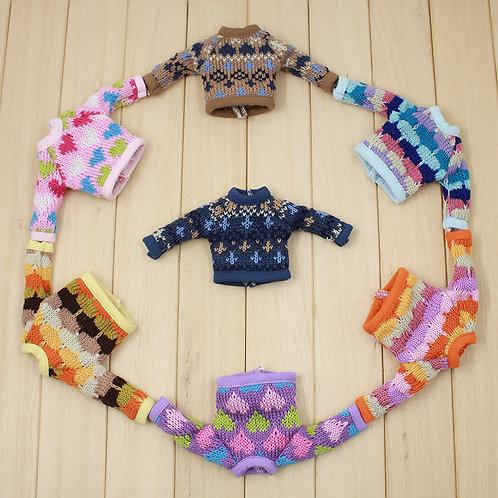 Blythe/Pullip long sleeve pattern jersey 7 colors