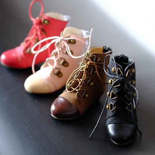1/4 BJD MSD shoes matte leather boots 4 colors