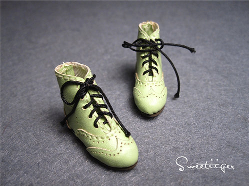"""12""""Blythe/Pullip/mmk/JerryB shoes green boots"""