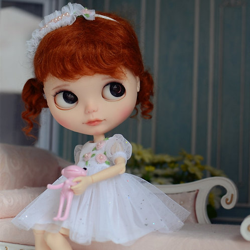 """Blythe pullip 12"""" outfit dress clothes mmk azone jerry berry"""