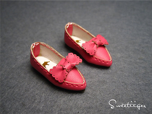 "12""Blythe/Pullip/mmk/JerryB shoes lace rose"