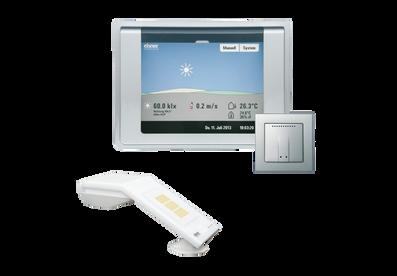 WS1000 color Alu mit Innensensor WGTH-UP und Wetterstation P04i Gps